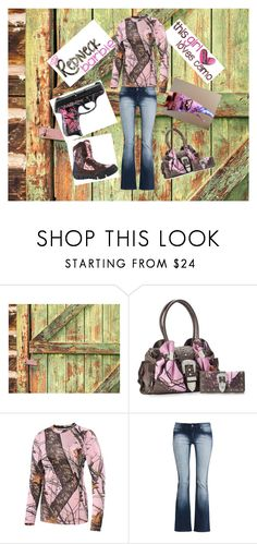 """""""Redneck Barbie"""" by countrymama4 ❤ liked on Polyvore featuring Mossy Oak, Terramar and WithChic"""