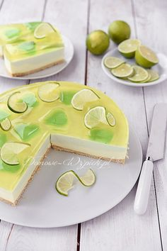 Sernik limonkowy na zimno Easy Dinner Recipes, Easy Meals, Cheesecakes, Avocado Toast, Tart, Clean Eating, Food And Drink, Cooking Recipes, Pudding