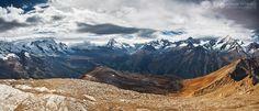 Alps Panorama - Alps - Switzerland www.adrianpetrisor.ro