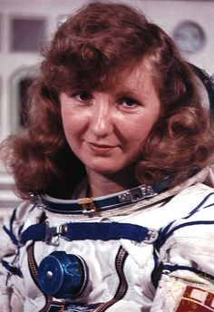 Irina Rudolfovna Pronina (Soviet cosmonaut, born Moscow)