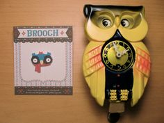 This brooch has come to live with me.   Create by Kristyna Baczynski @ http://kriskicorp.blogspot.com/