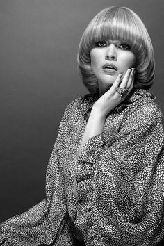The Purdey bob, Alice Kastrup-Moller photographed by Filippo Del Vita for Creem Magazine