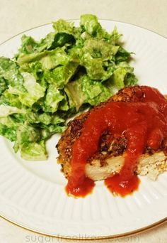 Low Carb Pizza Chicken/Chicken Parm