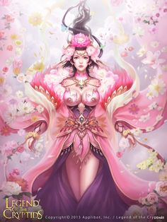 CGwall游戏原画网站_legend of the cryptids 卡牌美女