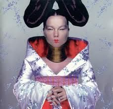 Brilliant Bjork shot, bold symmetrical, other worldly, modern yet ethnic inspired