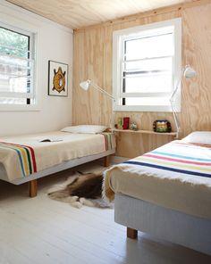 Georgian Bay Cottage Bedroom