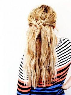 ノットヘアーの簡単な作り方&ヘアアレンジ集 | folk