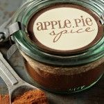Para atiçar olfato e papilas Apple Pie Spice