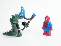 Spiderman's greatest foe The Wizard . . #lego #legos #spiderman  #legosuperheroes #villain #legostagram #toystagram #toycollector #toys #toy #civilwar #legominifigures #superhero #avengers #legominifigures #lizard #legominifigure #legominifigs #minifigures #marvelcomics #captainamericacivilwar #instalego #instatoys #comicbooks #bricknetwork #brickcentral by brickowskii