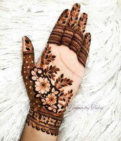 Rose Mehndi Designs, Henna Tattoo Designs Simple, Latest Bridal Mehndi Designs, Modern Mehndi Designs, Mehndi Designs For Girls, Henna Art Designs, Mehndi Designs For Beginners, Wedding Mehndi Designs, Dulhan Mehndi Designs