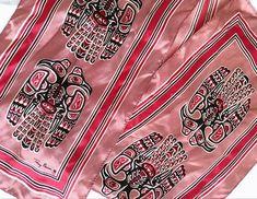 Grabbed the coolest vintage scarf from a thrift store. It's marked #skemocanada (Gotta google) 😁 #vintagefashion #thriftstorefind