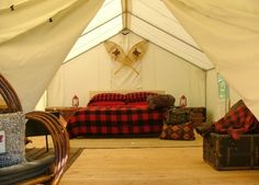Glamping in Canada http://wistfullywandering.wordpress.com/2012/09/25/what-the-bleep-is-glamping/