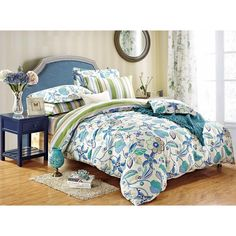 Bavlnené obliečky DecoKing Floral, 135 x 200 cm | Bonami