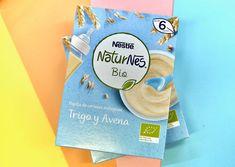 Prueba Gratis 6 productos NATURNES BIO de NESTLÉ, una gama de productos ecológica completa para tu bebé.