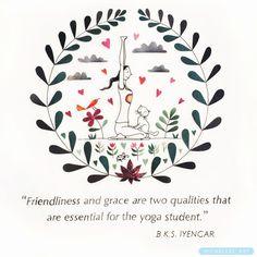 """236 kedvelés, 8 hozzászólás – ILLUSTRATION⭐️ARTyoga (@michelles_art) Instagram-hozzászólása: """"Friendliness & grace ❤️ . . . . . . . . #yoga #iyengaryoga #michellesart #yogainspiration #drawing…"""""""