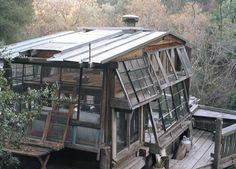 cabaña de ventanas