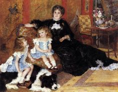 Madame Georges Charpentier and Her Children 1878 Oil on canvas, 154 x 190 cm Metropolitan Museum of Art, New York