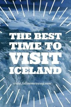 Wondering When To Visit Iceland? Our Iceland travel tips will help you decide! | 7 Reasons Why The Off-Season Is The Best Time To Visit Iceland | Best Time To Visit Iceland To See Northern Lights | Iceland Travel Tips | Visit Iceland On A Budget | Follow Me Away Travel Blog