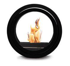 Designerski biokominek ROLL FIRE firmy Conmoto
