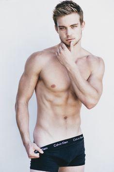 Dustin on Calvin Klein underwear