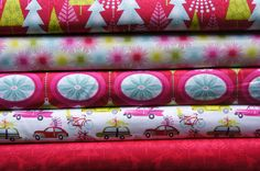 Hip Holiday by Josephine Kimberling Fat Quarter by sewlovefabrics, $12.50