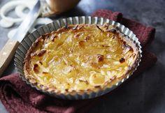 Tarte à l'oignon #AuchanEtMoi #auchan Cake Flan, Pie, Pasta, Desserts, Index, Quiches, Simple, Food, Recipe