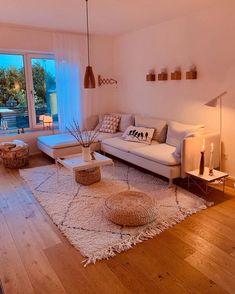 Home Room Design, Living Room Designs, Living Spaces, House Design, Modern Apartment Decor, Apartment Living, Room Decor Bedroom, Living Room Decor, Bedroom Decorating Tips