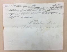 How a 4-Year-Old's Letter to His Father Survived the Civil War   Atlas Obscura