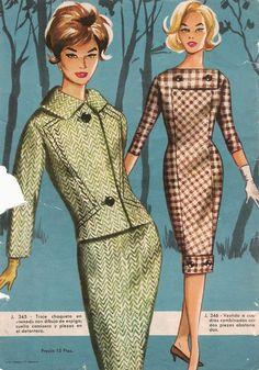 Women S Fashion Dresses Online Code: 7787473205 Moda Vintage, Style Vintage, Retro Fashion 60s, Vintage Fashion, Robes Vintage, Vintage Dresses, Retro Outfits, Vintage Outfits, Fashion Tips For Women