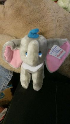 Dumbo Disney Animated Film Classics 1985 Dumbo Plush