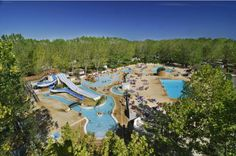 Camping met waterpark in de Hérault - Domaine La Yole Glamping, Tent Camping, Camping Hacks, Camping Pas Cher, Location Camping, Luxury Mobile Homes, Caravan Holiday, Destinations, Languedoc Roussillon