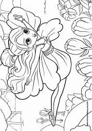 Free Coloring Sheets Of Barbie Thumbelina Printable Picture 18