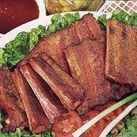 Dry Rub St. Louis Style Ribs #dryrubBBQ #BurgersSmokehouse