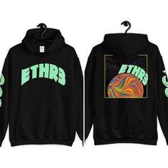 Trippy Streetwear Hoodie From city streets to urban sidewalks this trippy hoodie will become your favorite Streetwear, Pullover, Sport Wear, Hoodies, Sweatshirts, Black Cotton, Graphic Tees, Shirt Designs, Trippy