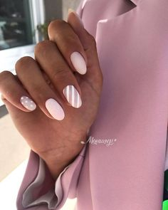 simple short acrylic summer nails designs for 2019 - page 17 - . - simple short acrylic summer nails designs for 2019 – page 17 – - Trendy Nails, Cute Nails, Hair And Nails, My Nails, Manicure E Pedicure, Shellac French Manicure, French Manicures, Short Nail Designs, Nagel Gel