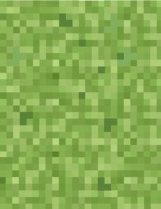 Free Minecraft green grass block wrapping paper pattern to use as a Minecraft wallpaper or as a printable pattern for Minecraft paper craft ...