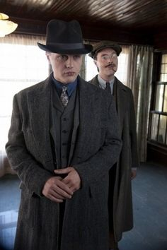 Jimmy Darmody & Richard Harrow - Boardwalk Empire. My favorite characters