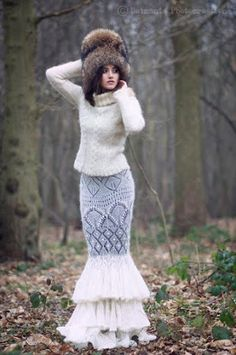 Knit outfit