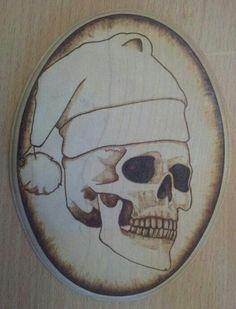 Bild Christmas Skull