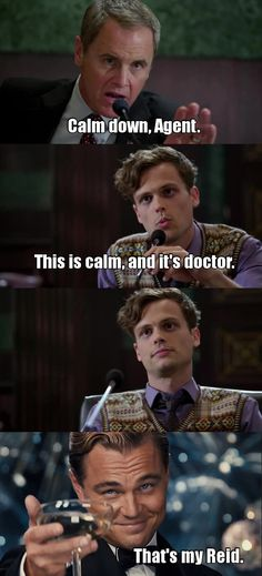 I would legit stop watching the show if they got rid of Reid.