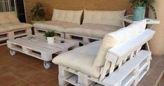 DIY Outdoor Furniture Made from Pallet furniture plans Pallet Outdoor Furniture Plans Pallet Garden Furniture, Outdoor Furniture Plans, Furniture Projects, Furniture Making, Home Furniture, Furniture Design, Pallet Projects, Pallet Ideas, Wooden Furniture