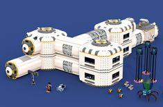 LEGO Ideas - Product Ideas - Subnautica: Skeleton of the Ancient Leviathan Subnautica Concept Art, Alien Concept Art, Subnautica Base, Funny Gaming Memes, Lego Creator Sets, Lego Army, Future Buildings, Lego Craft, Cool Robots