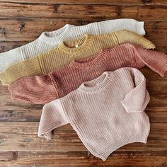 You're going to be looking forward to with all the chunky knits coming your way 🤗 drops Wednesday, August at… Baby Outfits, Toddler Outfits, Baby Girl Fashion, Toddler Fashion, Kids Fashion, Boho Baby, Baby Kids Clothes, Kid Styles, Baby Knitting