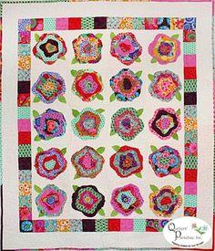 French Roses quilt kit!
