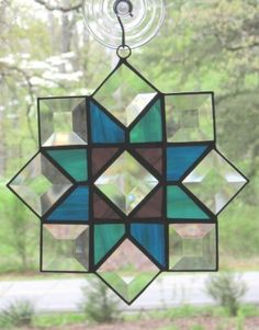 Stained Glass Suncatcher, Quilt Pattern