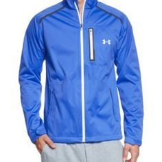 Under Armour Men's Jacket Storm Cocona blue blue/weiss Size:XL