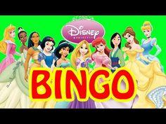 DISNEY PRINCESS Family Game Night Bingo Fun - YouTube Princess Bingo, Disney Princess, Princess Videos, Best Kids Toys, Family Game Night, Cool Kids, Games, Youtube, Fun