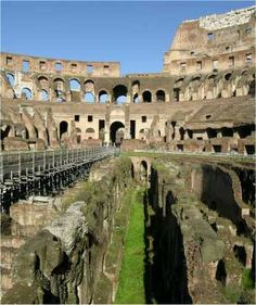 The Roman Colosseum... a must do