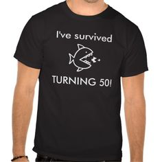 =>>Cheap          	I've survived TURNING 50! - 50th Birthday Idea T-shirts           	I've survived TURNING 50! - 50th Birthday Idea T-shirts This site is will advise you where to buyDeals          	I've survived TURNING 50! - 50th Birthday Idea T-shirts please follow the link to s...Cleck See More >>> http://www.zazzle.com/ive_survived_turning_50_50th_birthday_idea_tshirt-235325397559928896?rf=238627982471231924&zbar=1&tc=terrest