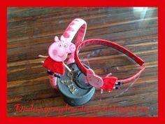 Diademas y Complementos Isabel: Diadema o broche de Pepa Pig. Paso a Paso